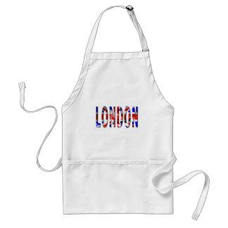 London-Wort mit Schürze