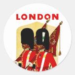 Londres Adhésif Rond