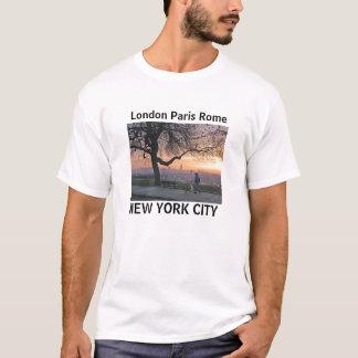 Londres Paris T-shirt de Rome, New York City