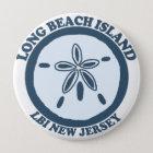 Long Beach Insel Runder Button 10,2 Cm