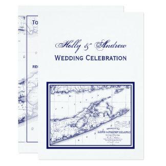 Long Island die Hamptons Karte VC Wedding