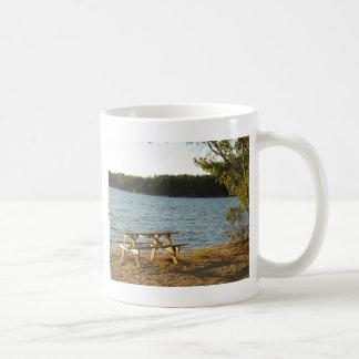 Long Island-Strand-Bank Kaffeetasse