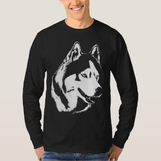 Longues chemises de chien de pièce en t de douille t-shirt