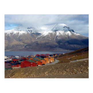 Longyearbyen magique, le Svalbard Carte Postale
