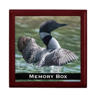 Loon-Fliesen-Kasten Erinnerungskiste
