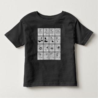 LOONEY TUNES™ Charakter-Gefühl-Diagramm Kleinkind T-shirt