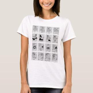 LOONEY TUNES™ Charakter-Gefühl-Diagramm T-Shirt