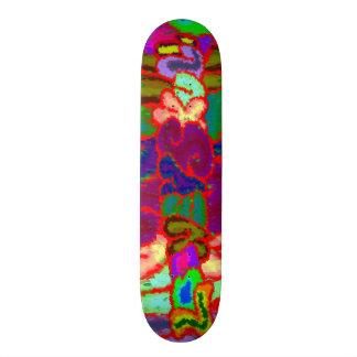 LooneySkull - Extraflippiges 21,6 Cm Skateboard Deck