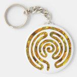 L'OR | de labyrinthe font votre propre arrière - p Porte-clefs