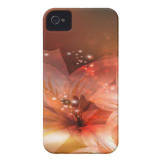 L'orange fleurit la caisse de Blackberry Coque iPhone 4