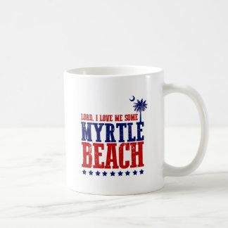 Lord, i-Liebe ich irgendein Myrtle Beach Kaffeetasse