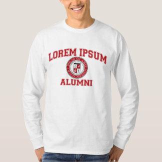 Lorem Ipsum HochschulUni-Schüler-blinder Latein T-Shirt