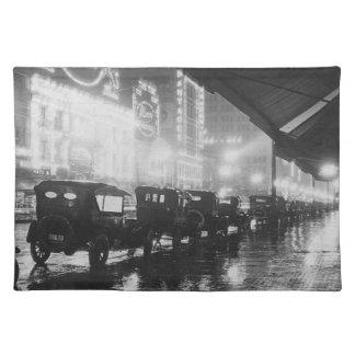 Los Angeles 1920 Stofftischset