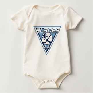 Los Angeles-Blatt-Eis-Hockey-Team-Logo Baby Strampler