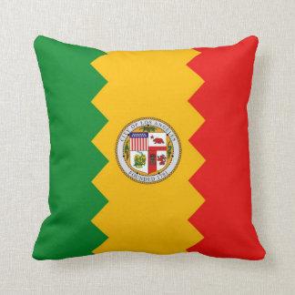 Los Angeles-Flaggen-Amerikaner MoJo Kissen