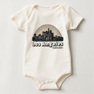 Los Angeles Kalifornien künstlerisches Skylinebaby Baby Strampler