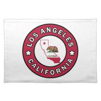 Los Angeles Kalifornien Tischset