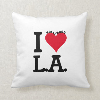 Los Angeles LOVE Hollywood Edition Zierkissen
