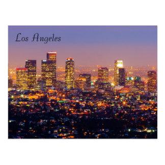 Los Angeles-Postkarte Postkarten