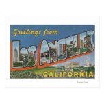 Los Angeles, scènes de lettre de CaliforniaLarge Cartes Postales