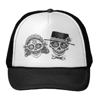 Los Novios - Dia de Los Muertos Hat Retrokultkappe
