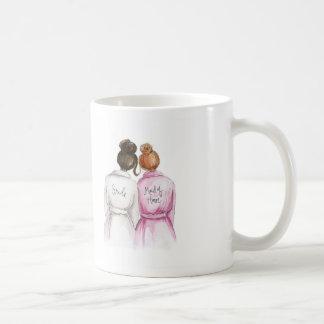 LÖSCHEN Sie hintere Tassen-dunkle Kaffeetasse
