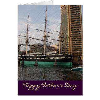 Löschen Sie innere glückliche der Vatertags-Karte