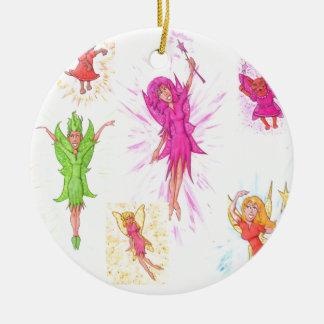 Lose Feen Keramik Ornament