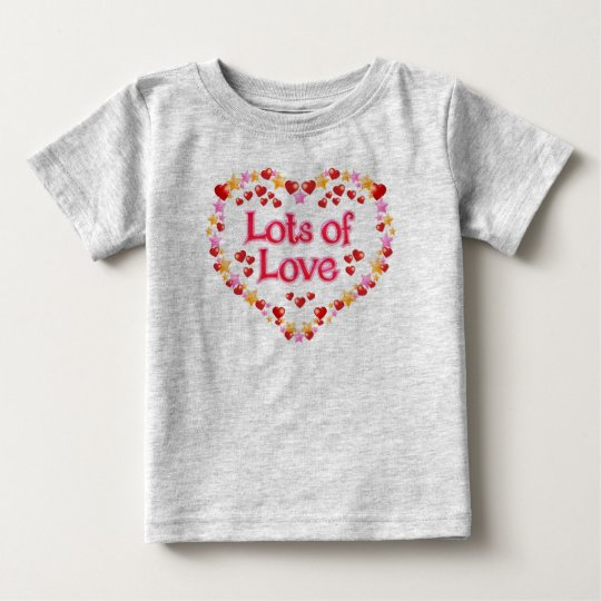 Lose Liebe Baby T-shirt
