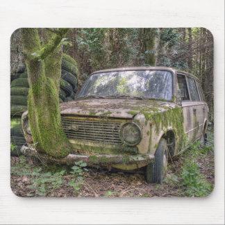 Lost Place - Rostlaube Mousepads