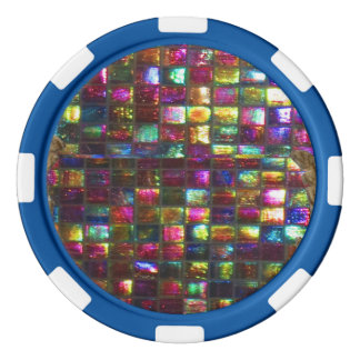 Lot De Jeton De Poker Options de couleur de bord de l'arrière - plan n