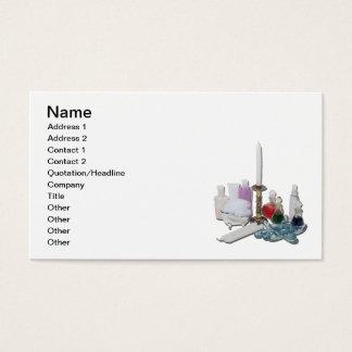 Lotions-Trank leuchtet Entspannung durch Visitenkarte