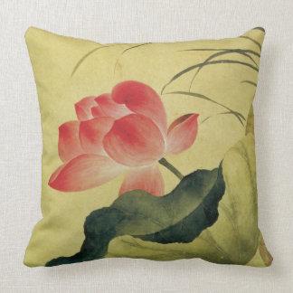 Lotos-Blumen-Mitleid-chinesische feine Kunst Kissen