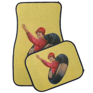 Lotta-Meilen, die für Kelly-Springfleld Reifen Autofußmatte