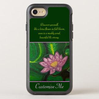 Lotus-Blüte (Lilien-Auflage) OtterBox Symmetry iPhone 7 Hülle