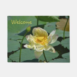 Lotus-Blüte Türmatte