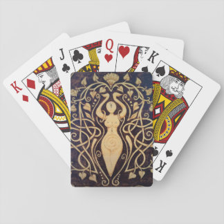 Lotus-Göttin-Spielkarten Spielkarten
