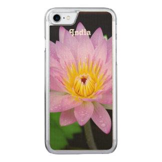 Lotus in Indien Carved iPhone 8/7 Hülle