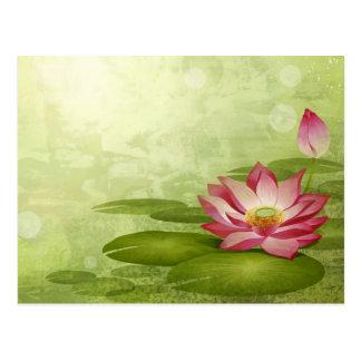 Lotus Postkarte