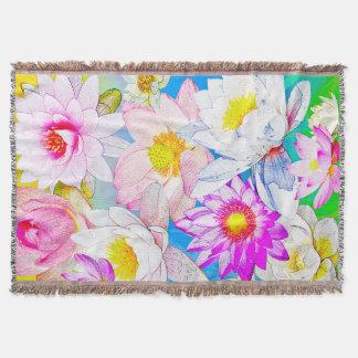 Lotus-Teich Wurfs-Decke Decke