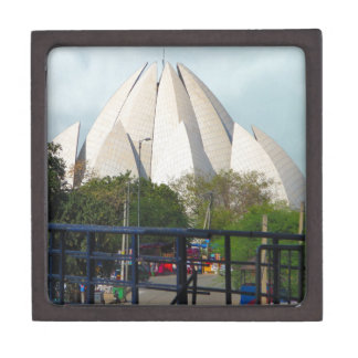 Lotus-Tempel-Neu-Delhi Indien Bahá'í Haus-Anbetung Schachtel