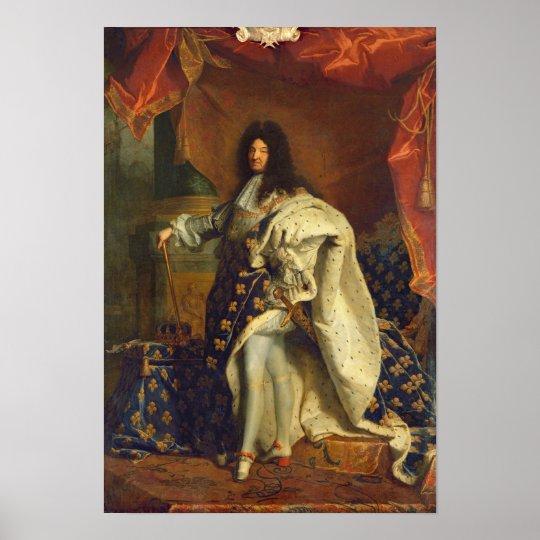 Louis XIV dans le costume royal, 1701