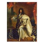 Louis XIV dans le costume royal, 1701 Carte Postale