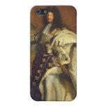Louis XIV dans le costume royal, 1701 Coques iPhone 5