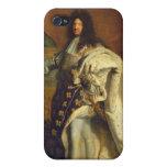 Louis XIV dans le costume royal, 1701 Coques iPhone 4/4S