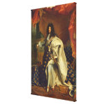 Louis XIV dans le costume royal, 1701 Impression Sur Toile