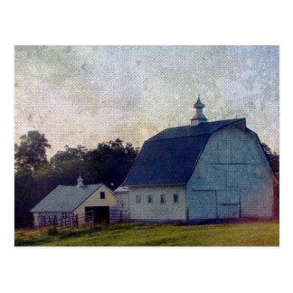 Louisa County Scheunen Postkarte