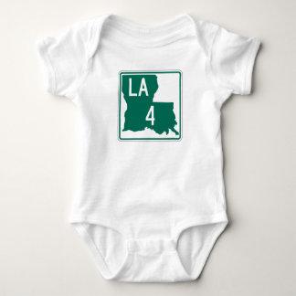 Louisiana-Landstraße 4 Baby Strampler