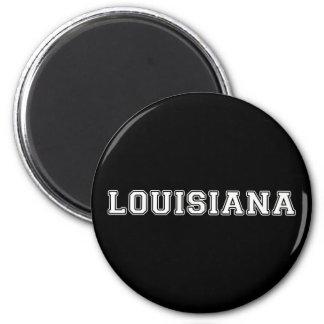Louisiana Runder Magnet 5,7 Cm