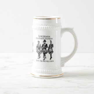LOUISIANA-TEE-PARTY-BIER STEIN BIERGLAS